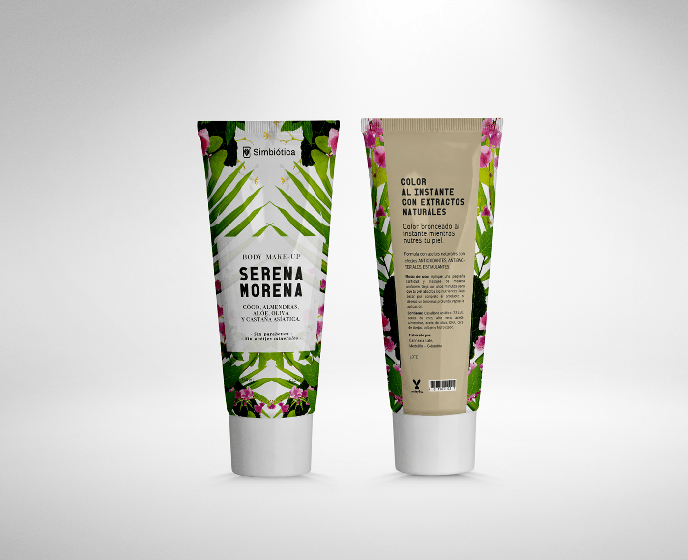 Natural products packaging